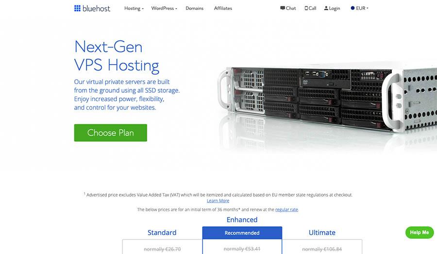 Bluehost Website Hosting Services