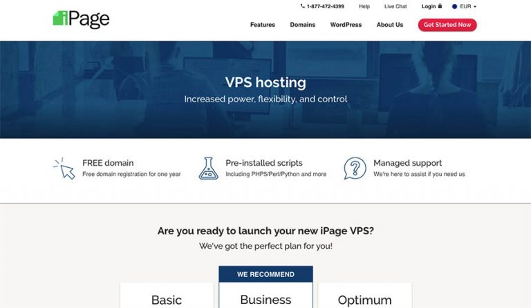 iPage eCommerce Website Hosting