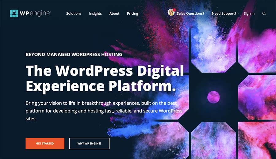 WP Engine eCommerce Host for WordPress sites