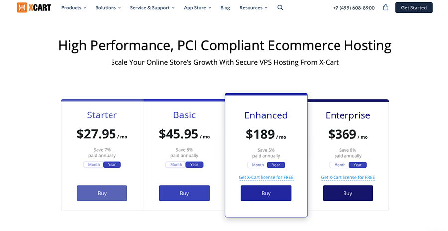 Fastest and Best Ecommerce Hosting Sites [April 2019] | X-Cart