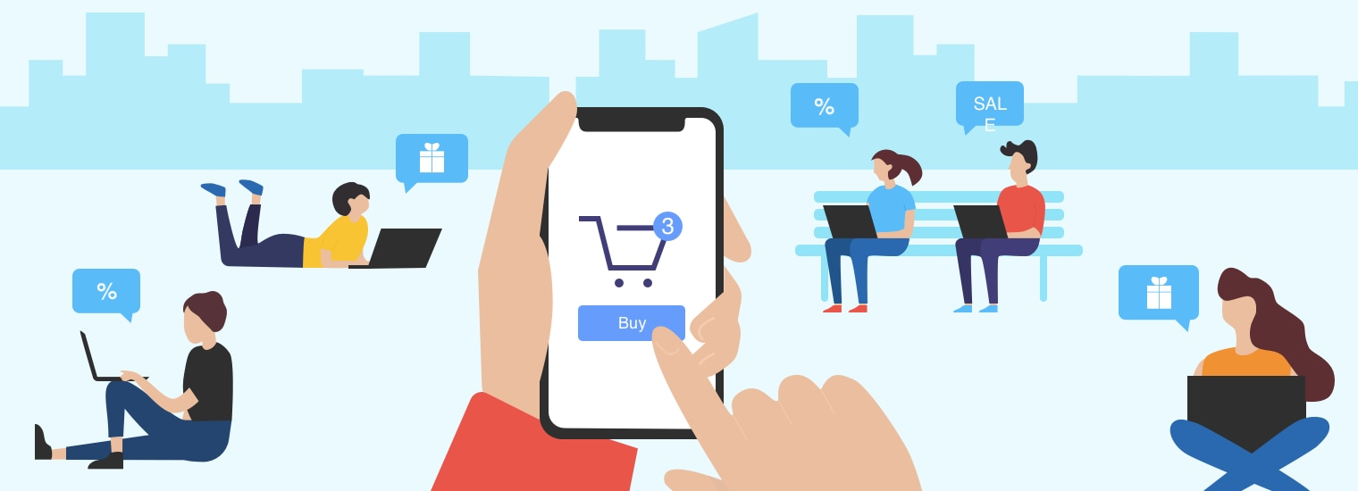 Mobile Commerce 101: Advantages, Disadvantages, Stats [+Examples]