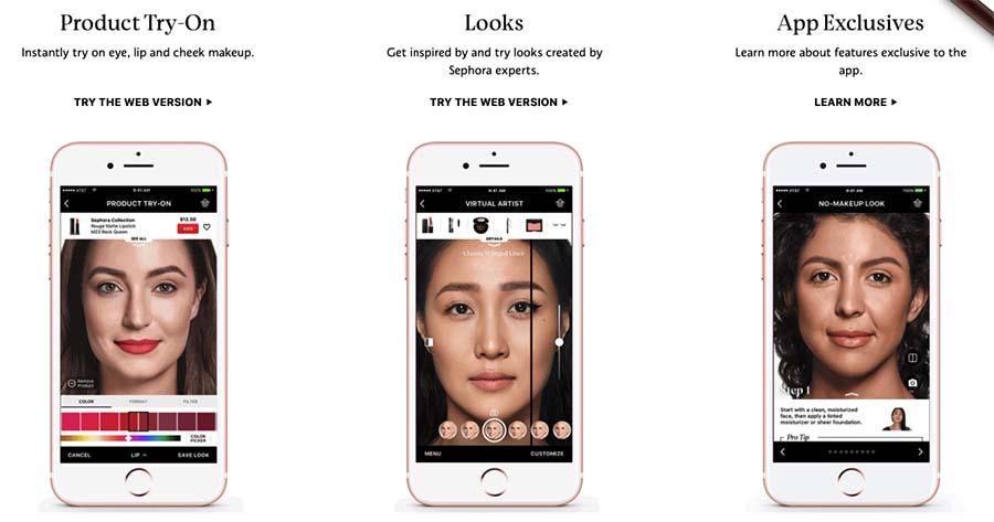 Sephora visual artist app