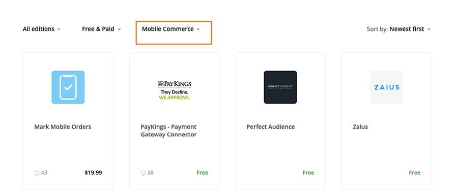 X-Cart mobile commerce