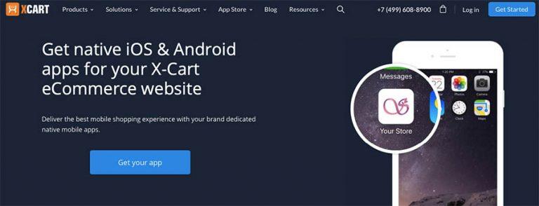 X-Cart Mobile Commerce App