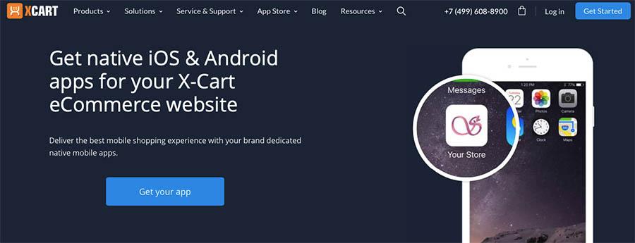 X-Cart eCommerce app