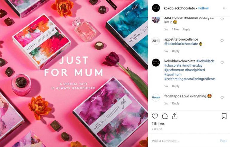 Instagram shopping photos