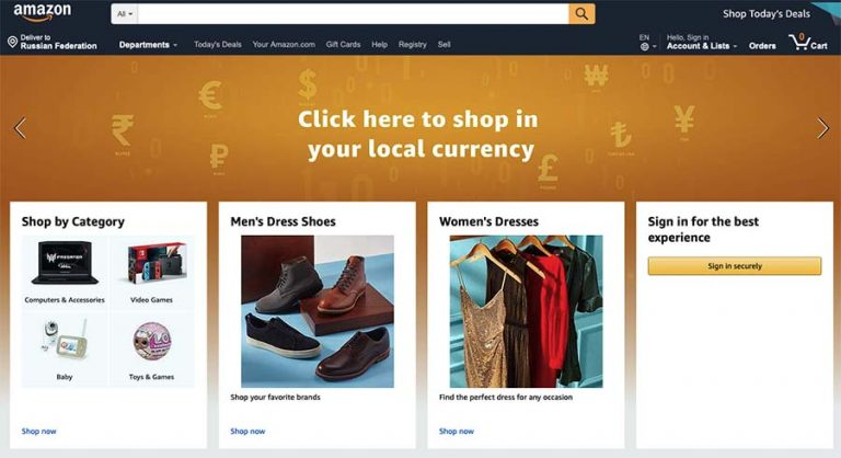 Amazon to sell stuff online