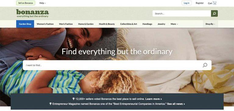 Bonanza Selling Website