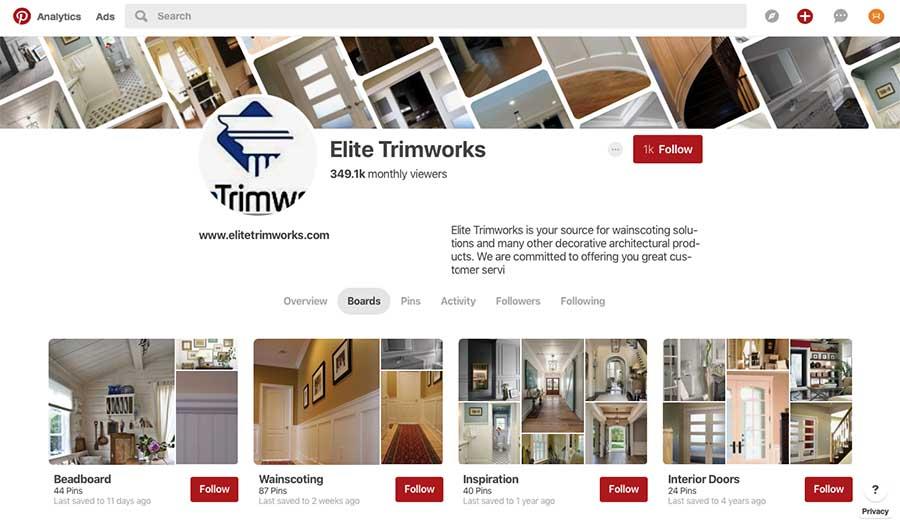 Elite Trimworks on Pinterest