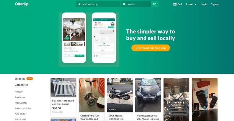 OfferUp buy and sell locally