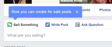 Facebook selling and buying groups