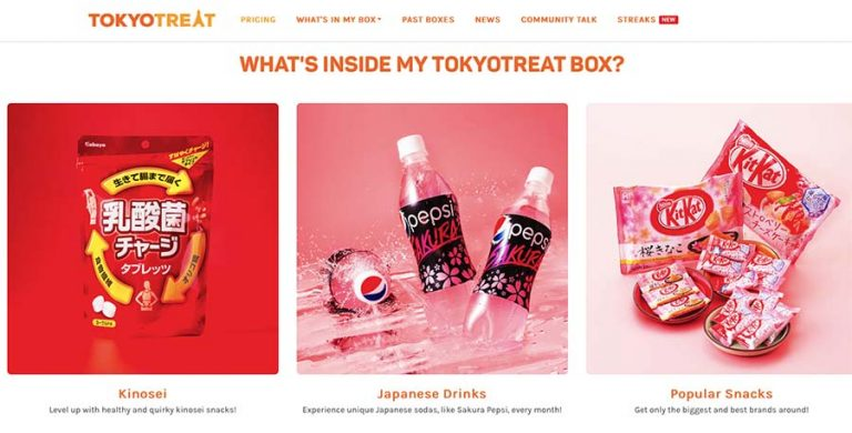 TokyoTreat subscription box business