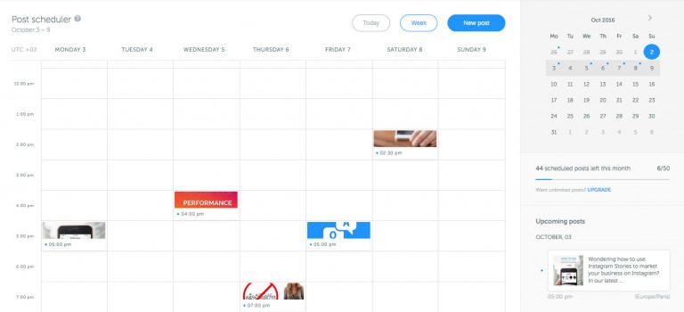 Iconosquare Instagram Scheduler