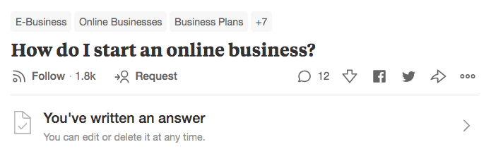 quora followers