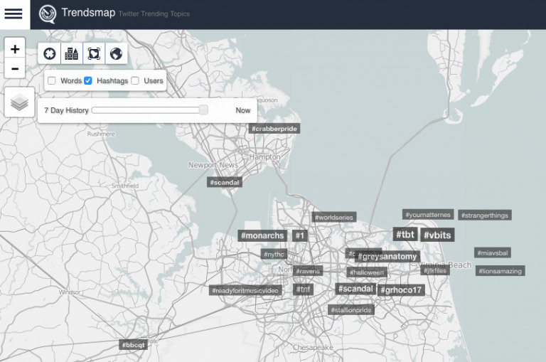 Trendsmap Hashtag Research Instagram Tool