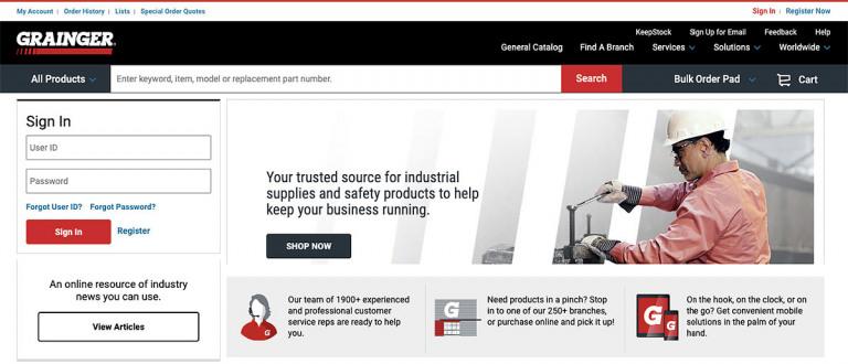 Grainger B2B Industrial Supplier