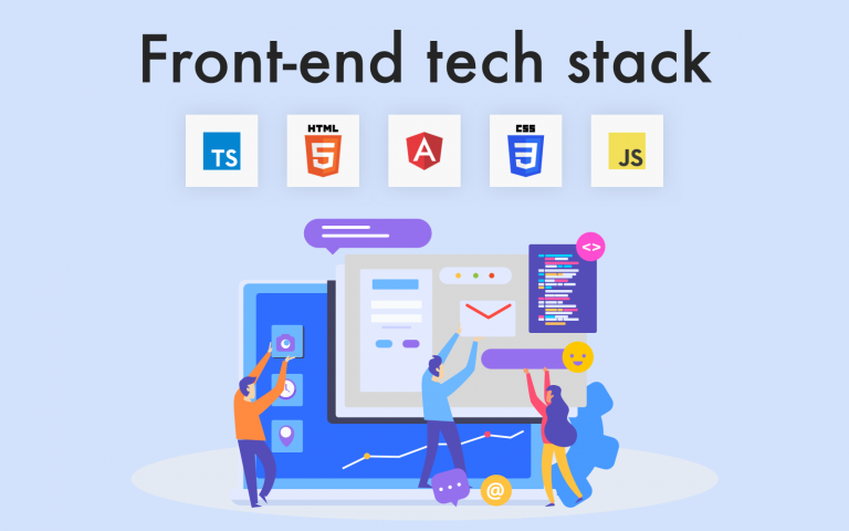 front-end tech stack