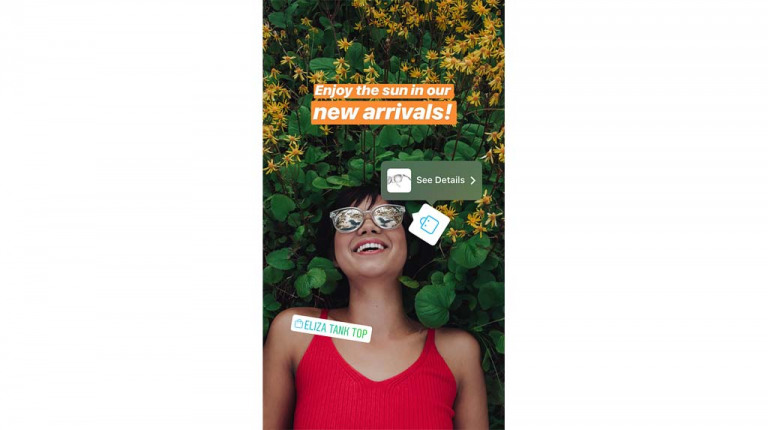 Product tagging on Instagram