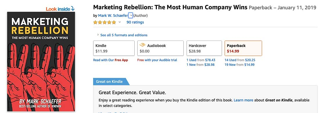 Marketing Rebellion Social Media Marketing Book