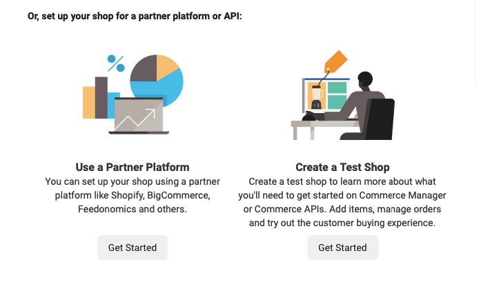 Using Third Party Platform to sell on Facebook