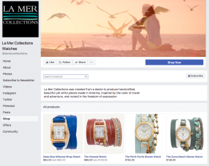La Mer Collection Facebook shop