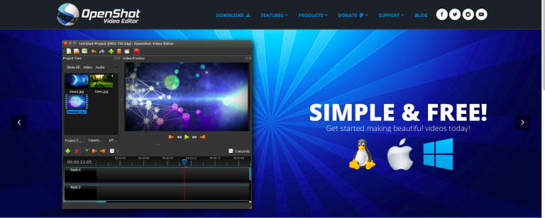 OpenShot Video Editing Software
