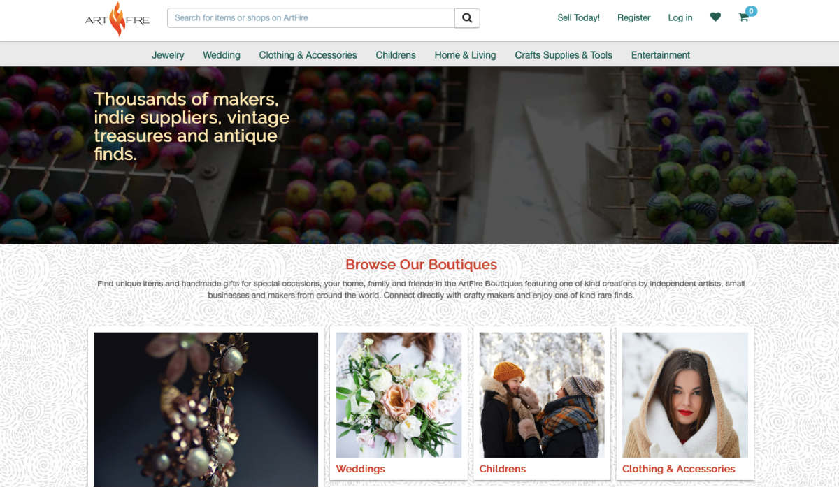 How to sell crafts online on ArtFire