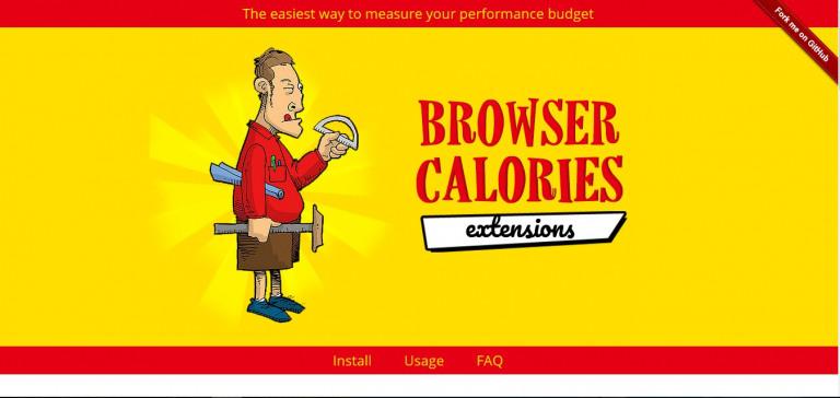 Browser Calories