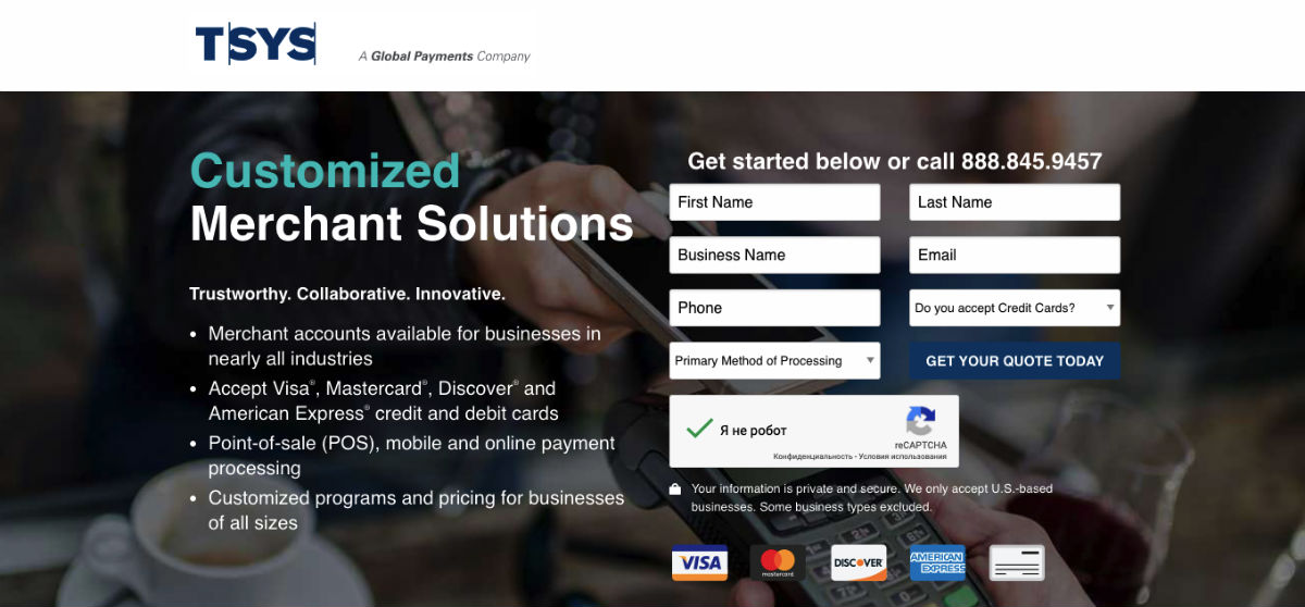 TSYS Payment Processing Company