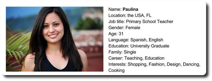 Buyer Persona-Paulina