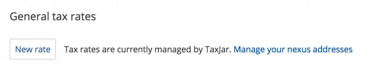 general tax rates