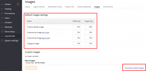New image settings in 5.2.6