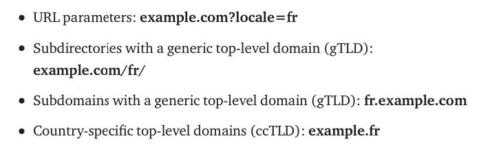 Multilingual or Multiregional Site