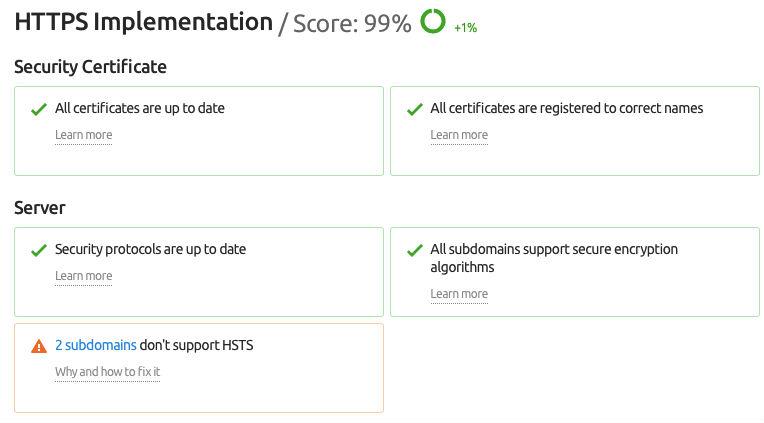 HTTPS implementation for SEO