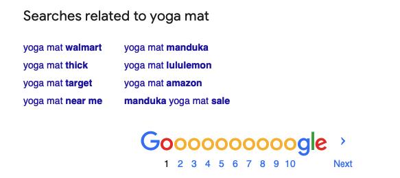 Finding Semantic keywords in Google