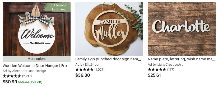 Men Selling on Etsy