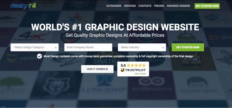 Designhill brand maker
