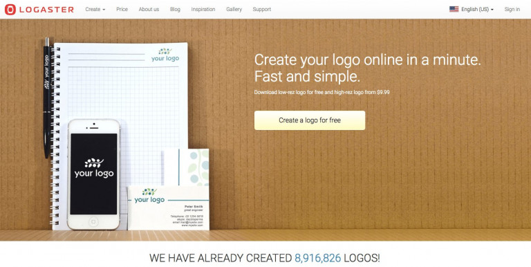 Logaster Best logo maker