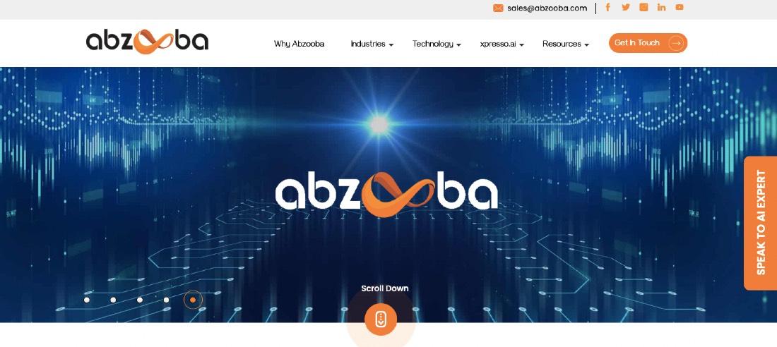 Abzooba AI-Powered CX Platform