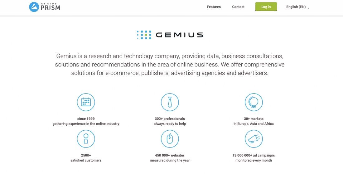 Gemius Prism Customer Experience Platform