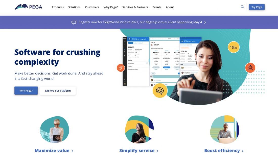 Pega Customer Engagement Software