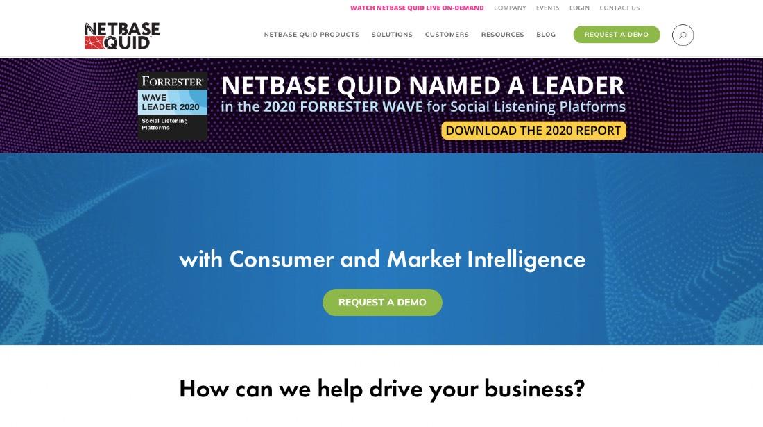 NetBase Quid Social Media Analytics Platform