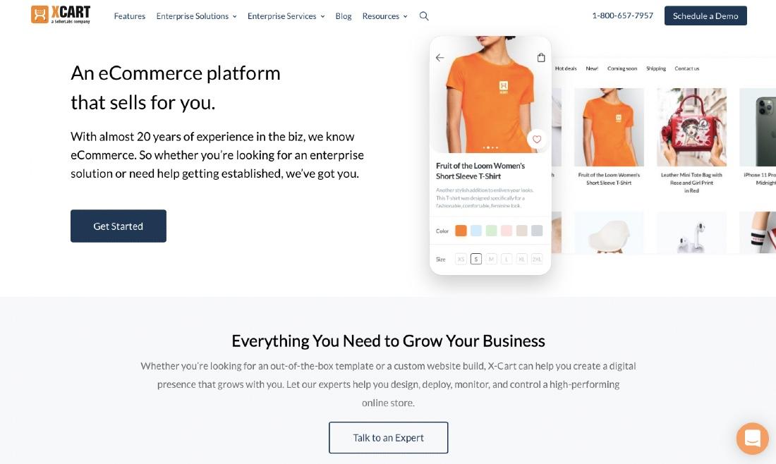 X-Cart shopping Platform