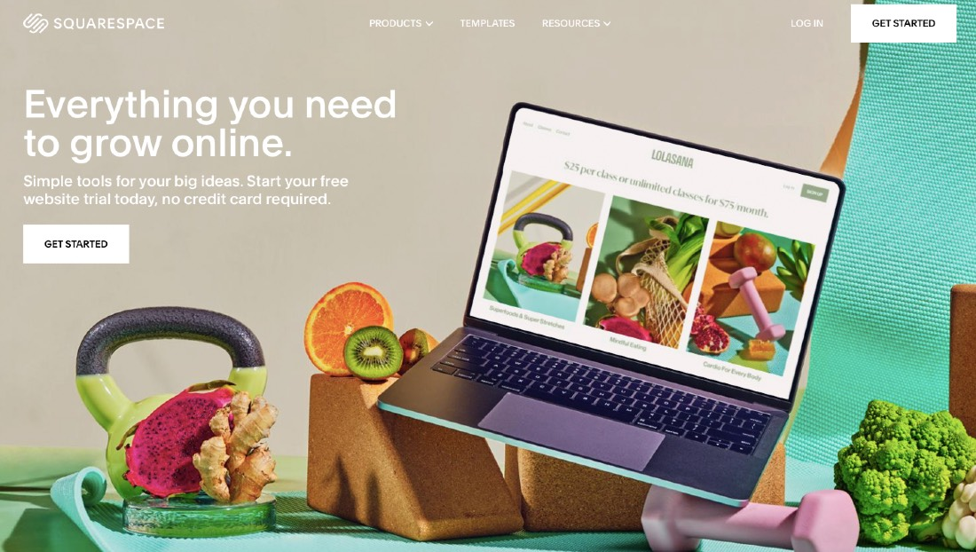 Squarespace alternative to BigCommerce