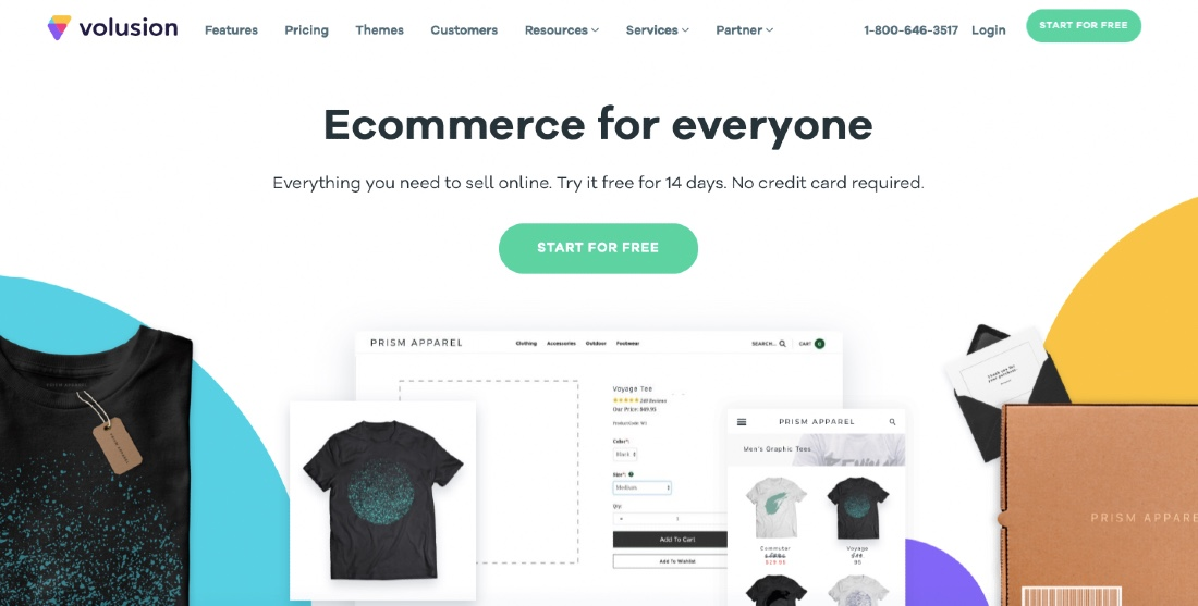 Volusion shopping solution