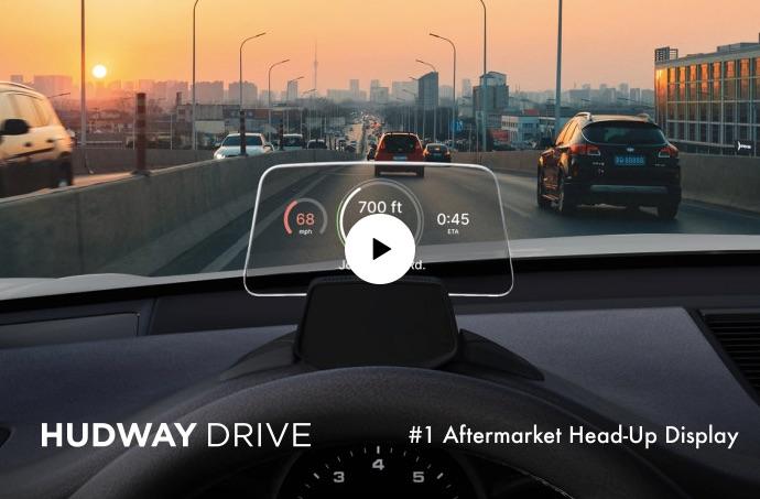 HUDWAY Drive head-up display