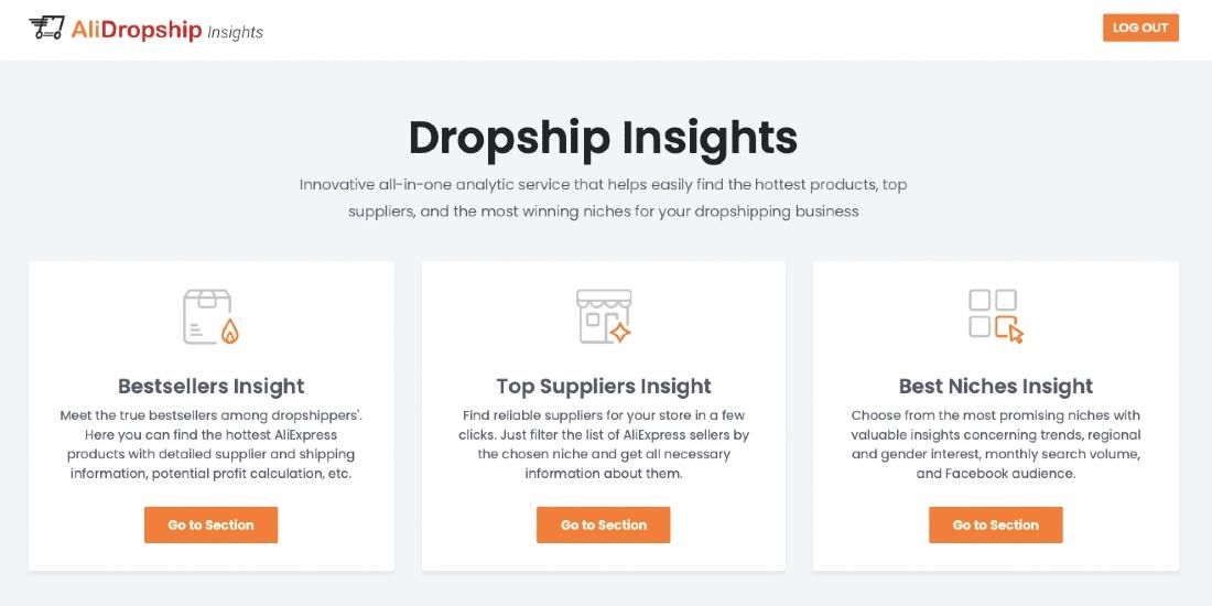 Dropshipping insights from Alidropship