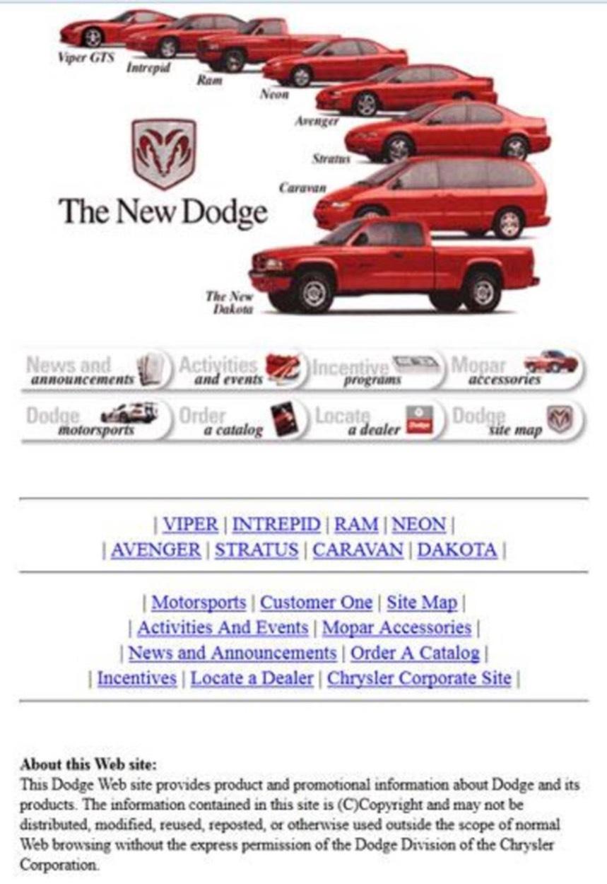 Dodge auto parts store