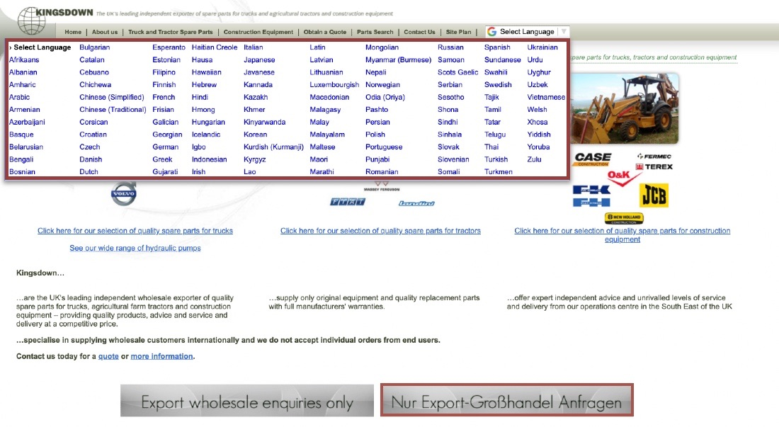 Kingsdown for international users