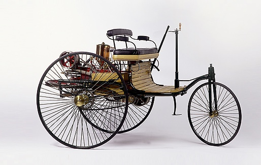 Motorwagen, the first horseless carriage